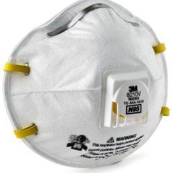 8210V – Respirador para partículas N95 con Válvula