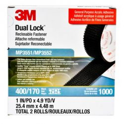Dual Lock 3551/52 – 1in x 4.9yds