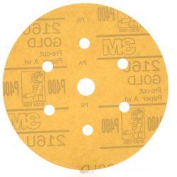 Disco Hookit Gold 216U PN01072 Grano 500
