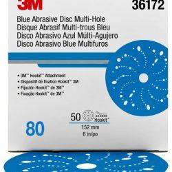 Disco Blue Hookit 6″ PN36172 Grano 80
